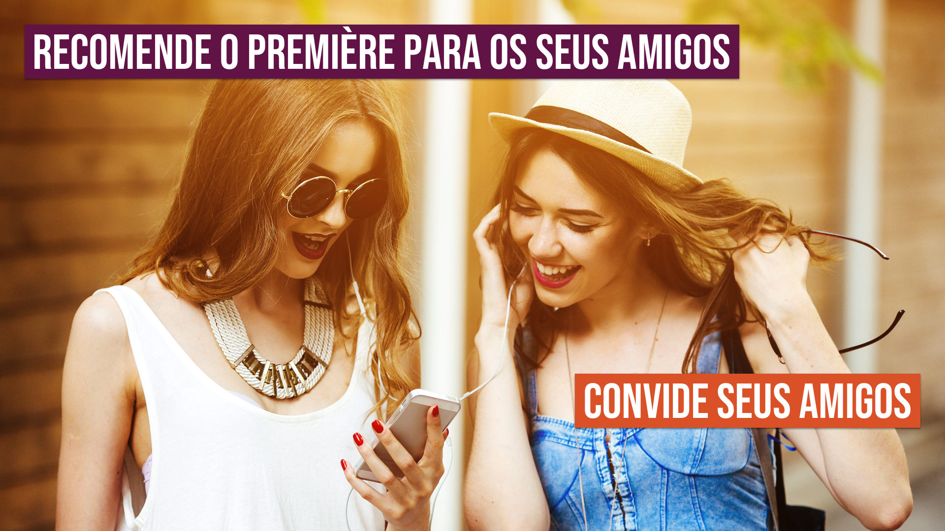 Recomende o Première para os seus amigos! Convide seus amigos!